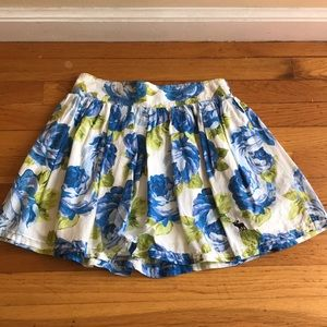 Abercrombie & Fitch Floral Skirt